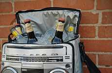 Booze-Holding Boomboxes - This Multifunctional Bag Has a Retro Look and Works With Most Devices