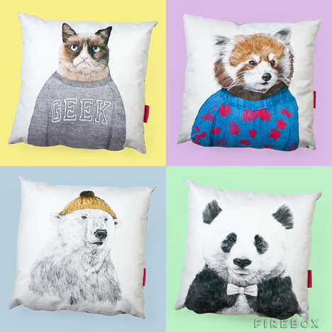 Personified Animal Cushions