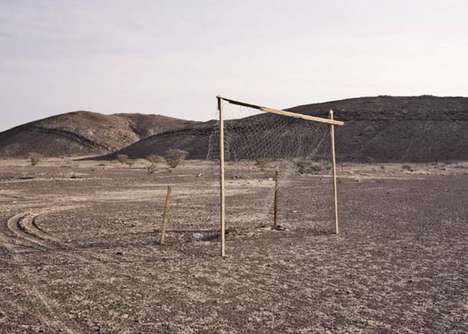 Desert Soccer Pitch Pictures - Dick Sweeney's Soccer Field Photos Show the Universal Love of Futbol