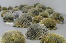 Paper Shrubbery Sculptures - Julie Dodd Interprets Rainforests as Lungs of the World Through Art