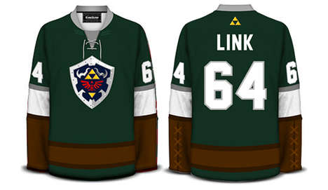 Geeky Hockey Jerseys - Geeky Meets Sporty with These Sweet Hockey Sweaters from Geeky Jerseys
