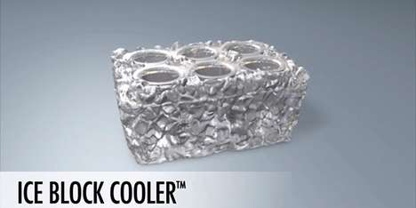Ice Block Cooler™ Infuses Cooler and Ice in a Convenient Marriage