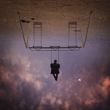 Surreal Gravity-Defying Images - These Stunning Pictures by Hossein Zare Bend the Rules of Gravity