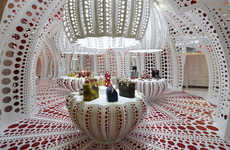 Pumpkin-Inspired Pop-Up Shops - Yayoi Kusama Collaborates on the 12 Louis Vuitton by THEVERYMANY