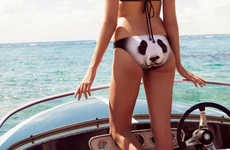 Zoological Swimwear Designs - The We are Handsome Swimwear Range Features Prints of Wild Animals