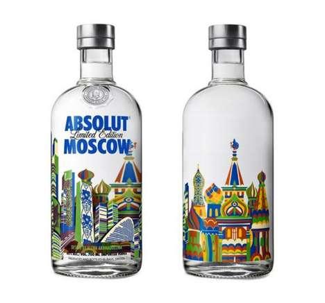 Soviet-Inspired Booze Branding