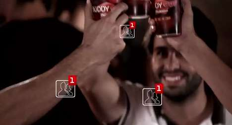 Social Media-Incorporated Cups - The Budweiser Buddy Cup Sends a Friend Request with Every Cheers