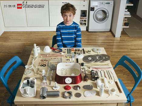 Deconstructed Toy Appliance Ads