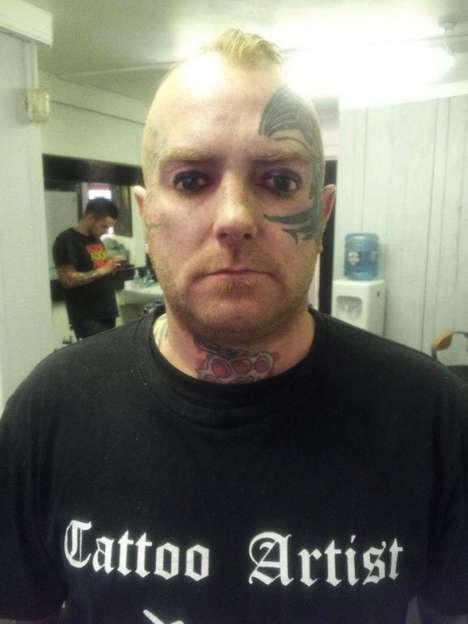 Shocking Tattooed Eyelids