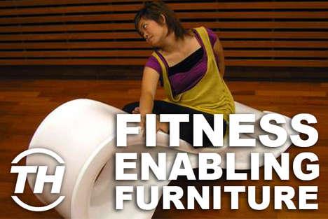 Fitness-Enabling Furniture