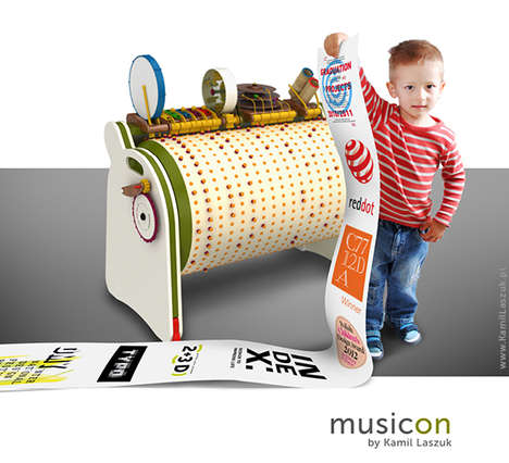 Multifarious Musical Toys - The Musicon is an Interactive and Engaging Instrument for Young Children