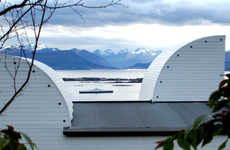 Cat-Eared Cabins - The Pedervegen 8 Residence Features a Pair of Curious Rooftop Protrusions