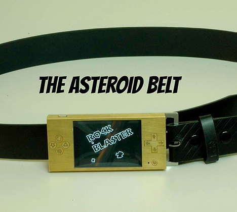 Arcade-Inspired Belts