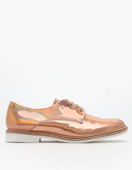Zoe Brogue's Rosegold Creations for Miista Shoes are Shimmering Chic in Style