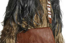 Star Wars Messenger Bags - Wookiee-Inspired Bags are Perfect for the Working Star Wars Fan