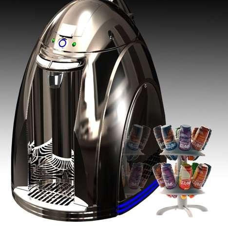 Spritz-Inducing Drink Makers