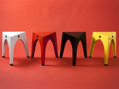 Stackable Origami Stools
