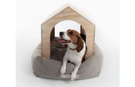 Pillow-Bottomed Pet Shelters