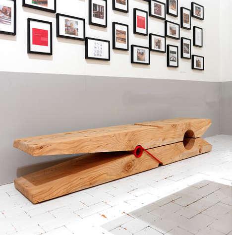 Oversized Peg Furniture