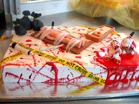 Serial Killer Cakes - These Dexter-Themed Desserts are Deliciously Graphic