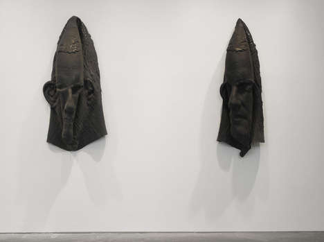 Deflated Head Sculptures