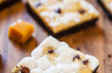 Cookie-Infused Campfire Squares - This 'Averie Cooks' S'mores Bar is Perfect with