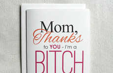 Snarky Mother's Day Cards - Make your Mother Laugh this Year with a 'Seven Miles Per Second' Card