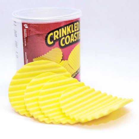 Potato Chip Mug Mats