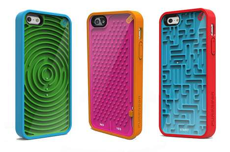 Tactile Pastime Phone Protectors - PureGear Retro Game Cases Entertain Without Depleting Power