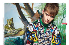 Animal Explorer Editorials - The Safari Neo2 Fashion Story is Eccentrically Styled