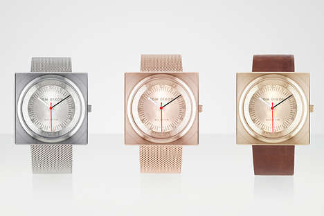 Luxurious Squared Timepieces