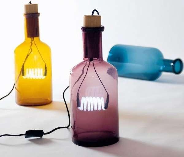 26 Beverage Bottle Lights