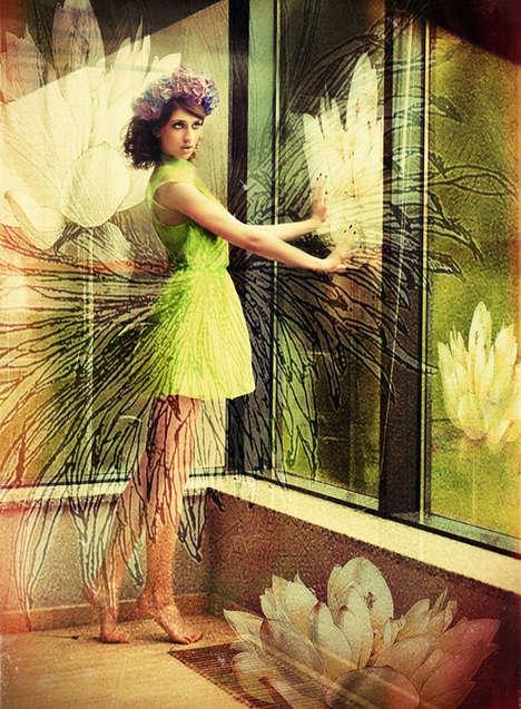 Botanical Beauty Photoshoots