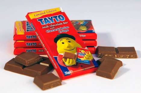 Chip-Flavored Chocolate Bars