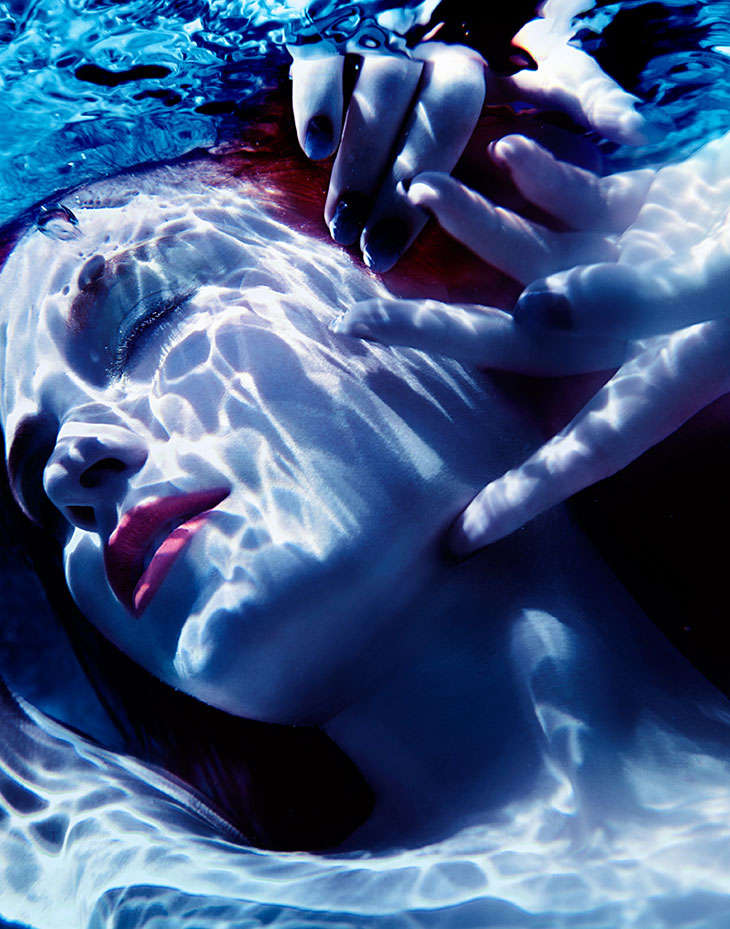 Dreamy Underwater Editorials