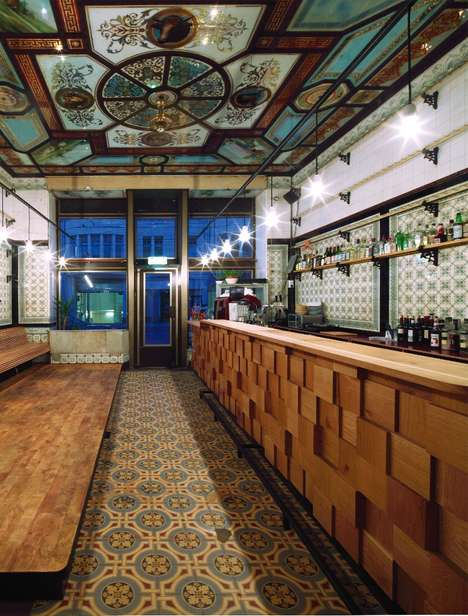 Madeover Butcher Shops Bars - Architect Michael Grzesiak Transformed an Old Butchers into a Bar