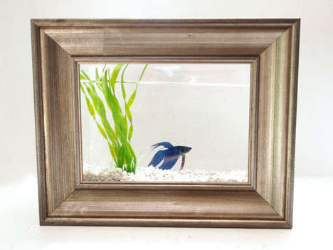 Fantastically Framed Fish Tanks