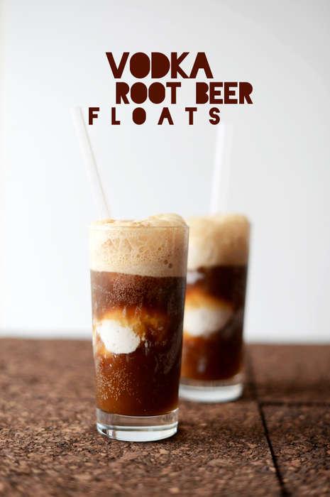 Alcoholic Ice Cream Shakes
