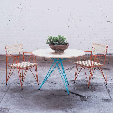 Rustic Steel Furniture