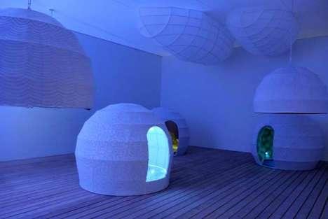 Immersive Igloo-Like Installations