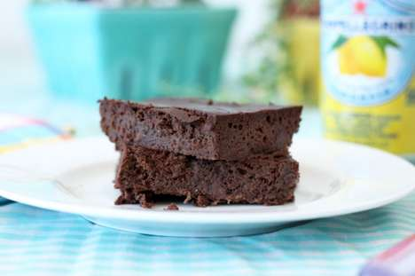 Black Bean Baked Goods - These Healthy Brownies use a Variety of Quality Ingredients