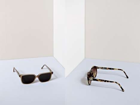 Lightweight Minimalist Sunglasses