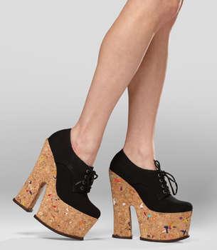 Colorful Cork Footwear