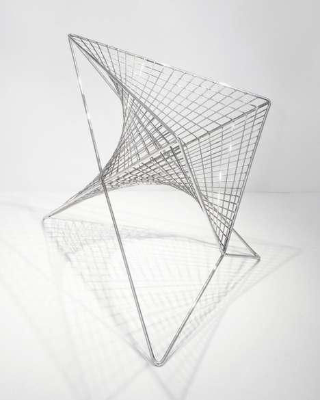 Sculptural Vortex Seating