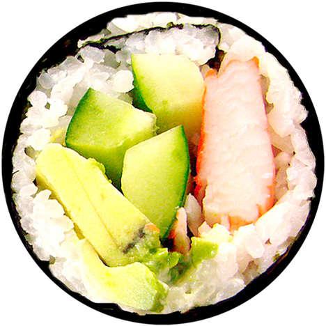 Sushi-Inspired Floor Mats