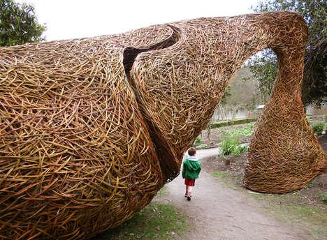 Woven Willow Artwork