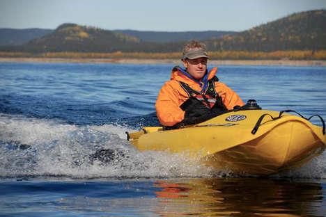 Sleek Jet-Propelled Kayaks