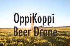 Aerial Beer Deliveries - The Oppikoppi Music Festival Will Have Beer-Delivering Robots