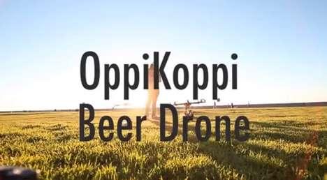 Aerial Beer Deliveries