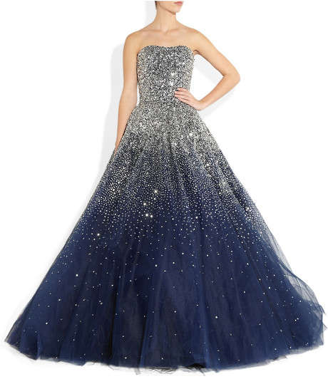 This Marchesa Silk Tulle Dress Will be a Show-Stopper at Prom